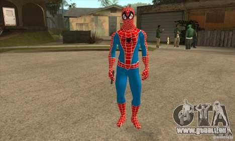 Spider Man From Movie für GTA San Andreas zweiten Screenshot