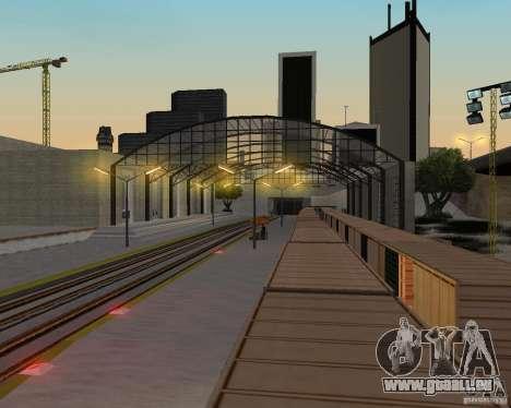 Nouvelle station de chemin de fer pour GTA San Andreas neuvième écran