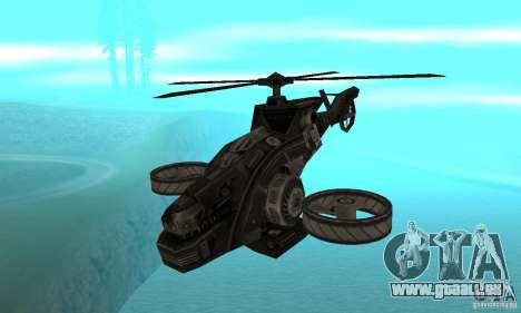 Un hélicoptère du jeu TimeShift Black pour GTA San Andreas
