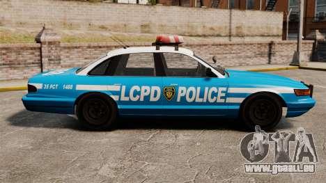 Vapid Police Cruiser ELS pour GTA 4 est une gauche