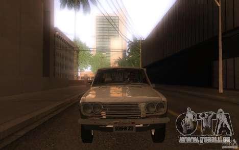 Datsun 510 4doors pour GTA San Andreas vue intérieure
