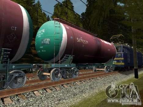 Wagon-citerne no 51179257 pour GTA San Andreas laissé vue