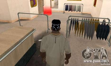 Bandana CS für GTA San Andreas dritten Screenshot