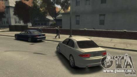 Honda Accord Type-S 2003 für GTA 4 linke Ansicht