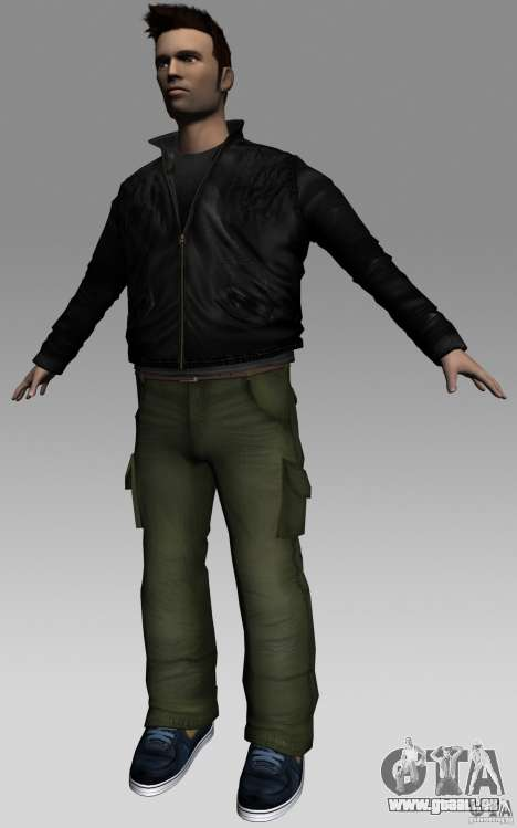 Claude HD from GTA III GTA Vice City pour la troisième écran