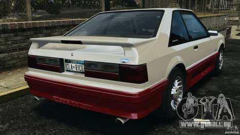 Ford Mustang GT 1993 v1.1 für GTA 4 hinten links Ansicht