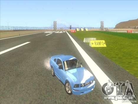 Ford Mustang Pony Edition für GTA San Andreas Seitenansicht