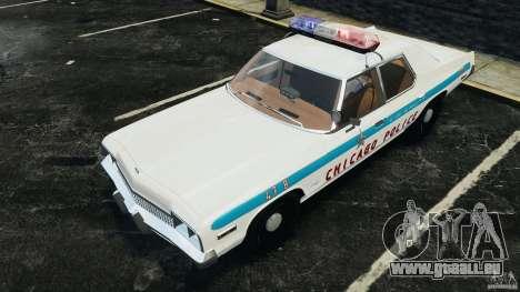 Dodge Monaco 1974 Police v1.0 [ELS] pour GTA 4 roues