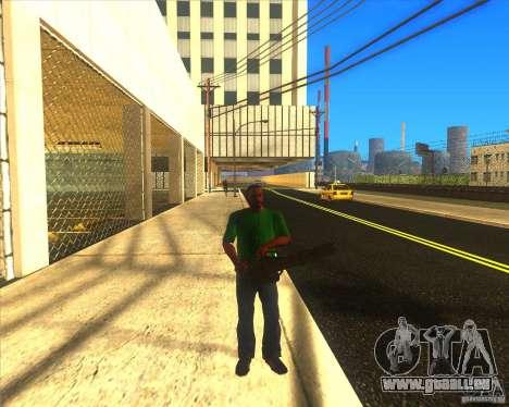 M134 minigan für GTA San Andreas dritten Screenshot