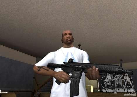 HK 416 für GTA San Andreas