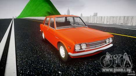 Datsun Bluebird 510 Sedan 1970 für GTA 4 Innenansicht