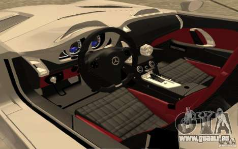 Mercedes-Benz SLR McLaren Stirling Moss für GTA San Andreas rechten Ansicht