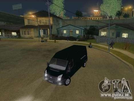 Ford Transit 350L für GTA San Andreas Seitenansicht