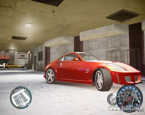 Nissan 350Z Z33 für GTA 4 linke Ansicht