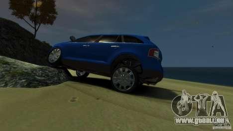 Ford Edge 2007 pour GTA 4 est une gauche