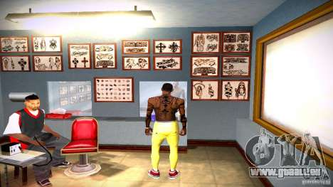 Drei neue Tätowierung für GTA San Andreas zehnten Screenshot