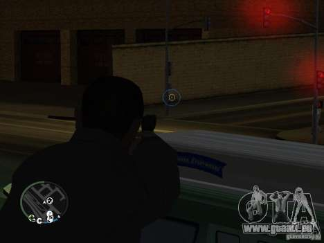 HUD et les armes de GTA IV pour GTA San Andreas deuxième écran