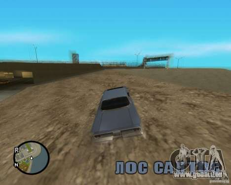 Detailed Map and Radar Mod pour GTA San Andreas cinquième écran