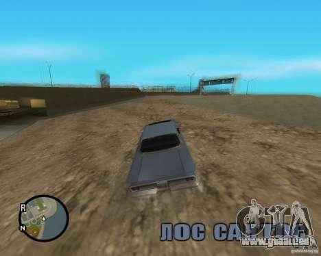 Detailed Map and Radar Mod pour GTA San Andreas cinquième écran