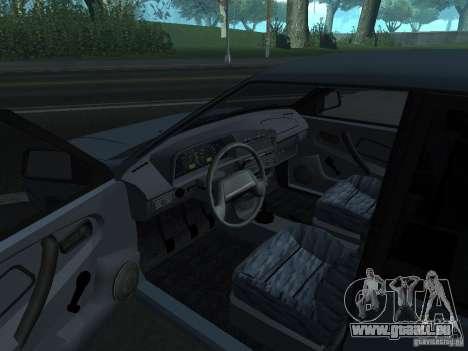 Tourisme 2114 ВАЗ pour GTA San Andreas vue arrière