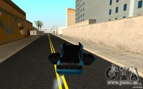 LADA 2170 Penza tuning pour GTA San Andreas vue intérieure