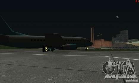 AT-400 auf allen Flughäfen für GTA San Andreas sechsten Screenshot