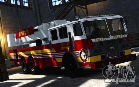 SS10 Tower Ladder v1.0 pour GTA 4