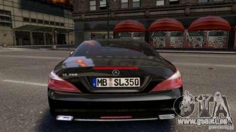 Mercedes-Benz SL 350 2013 v1.0 pour GTA 4 est un droit