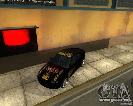 Vauxhall Monaro pour GTA San Andreas vue de droite