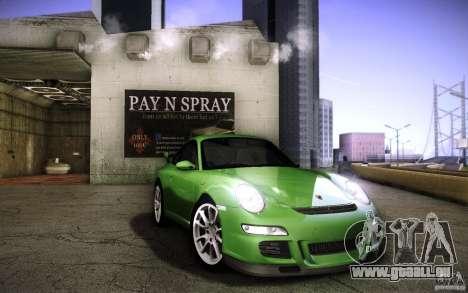 Porsche 911 GT3 (997) 2007 für GTA San Andreas Innenansicht
