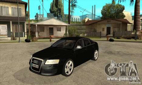 Audi RS6 2010 pour GTA San Andreas
