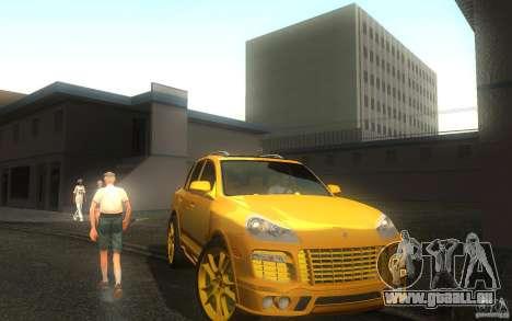 Porsche Cayenne gold pour GTA San Andreas