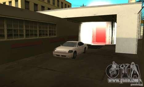 Lave-auto pour GTA San Andreas deuxième écran