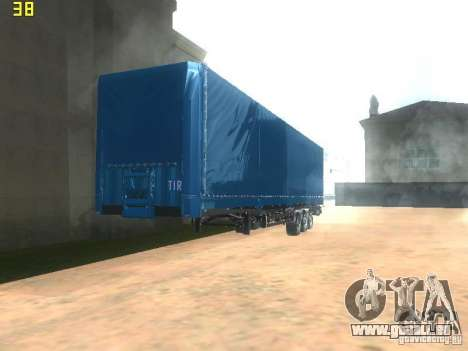 Nefaz-93341 remorque-10-07 pour GTA San Andreas