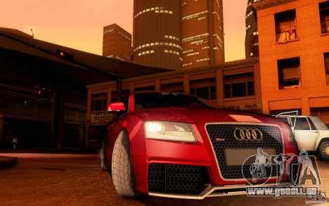 Audi RS5 pour GTA San Andreas vue de côté