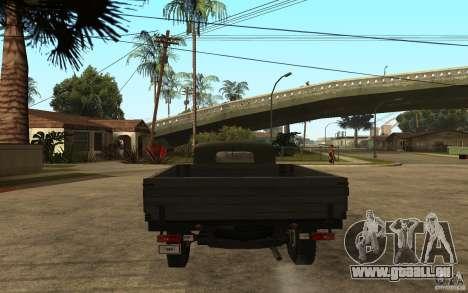 UAZ 300 pour GTA San Andreas sur la vue arrière gauche