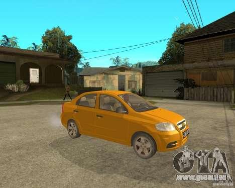 Chevrolet Aveo 2007 für GTA San Andreas rechten Ansicht