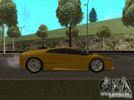 Lamborghini Murcielago LP640 für GTA San Andreas rechten Ansicht
