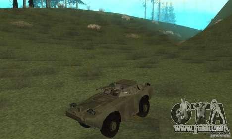 BRDM-1 Haut 3 für GTA San Andreas linke Ansicht