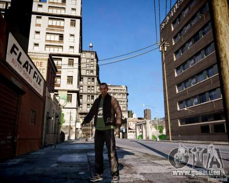 Bad Niko pour GTA 4 dixièmes d'écran