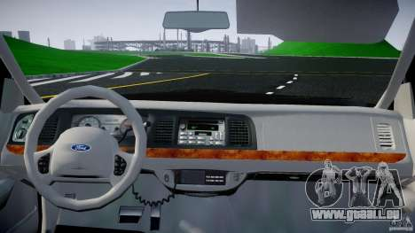 Ford Crown Victoria 2003 v2 FBI für GTA 4 rechte Ansicht