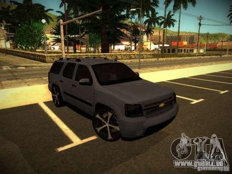 Chevrolet Tahoe HD Rimz für GTA San Andreas