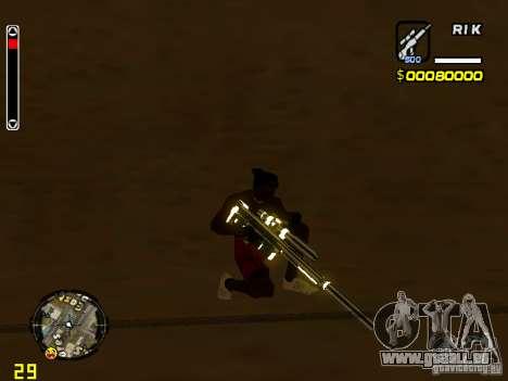 White and Black weapon pack pour GTA San Andreas deuxième écran