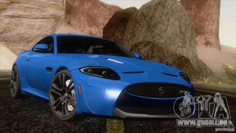 Jaguar XKR-S 2011 V1.0 pour GTA San Andreas vue de dessus