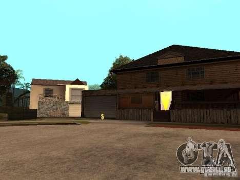 Grand Street pour GTA San Andreas troisième écran