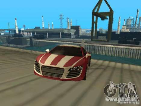 Audi R8 Le Mans NFS Carbon v2.0 pour GTA San Andreas