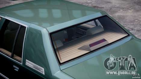 Buick Roadmaster Sedan 1996 v1.0 pour GTA 4 roues