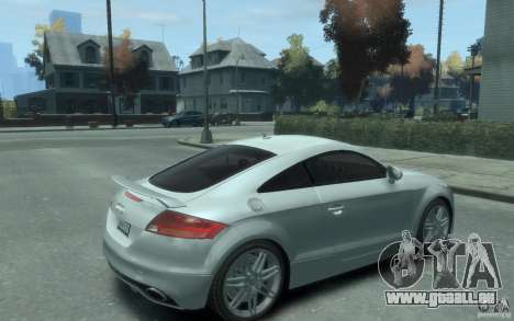 Audi TT-RS für GTA 4 rechte Ansicht