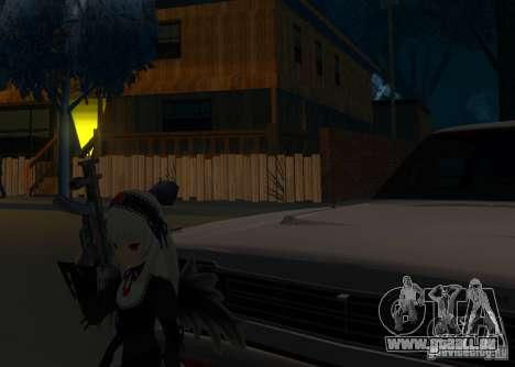 Anime Characters pour GTA San Andreas deuxième écran