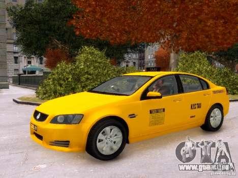Holden NYC Taxi V.3.0 pour GTA 4 est une vue de l'intérieur